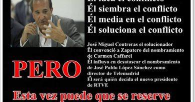 José Miguel Contreras o el intento patético de blanquear a Pedro Sánchez. Un vídeo imprescindible de Rafael Gómez de Marcos