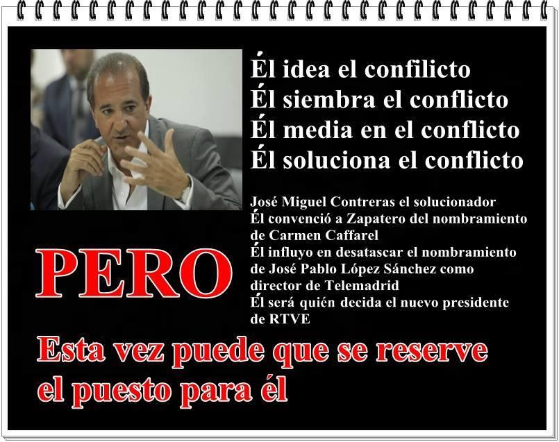 José Miguel Contreras o el intento patético de blanquear a Pedro Sánchez
