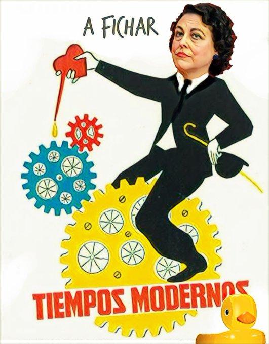 La ministra de trabajo desea un Feliz Día a todos los contribuyentes y contribuyentas pero olvida que