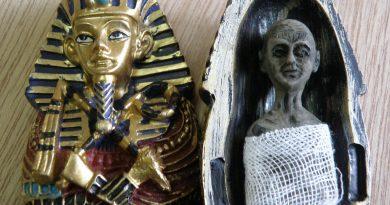 La momia de Tutankamón