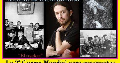 Pablo Iglesias y la memoria histriónica...