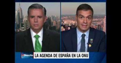 Pedro Sánchez reivindica el Frente Popular.