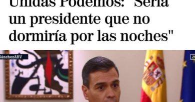 Sánchez fue entrevistador con la técn ica del doble monólogo en la Sexta. Arrogante, cínico, mentiroso, fullero... No entiendo cómo puede ser votado semejante elemento. Por Linda Galmor