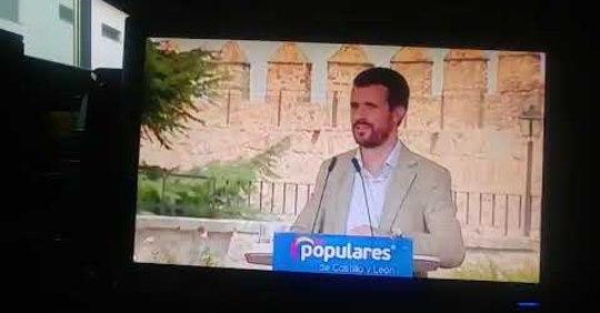 TVE manipula las palabras de Pablo Casado