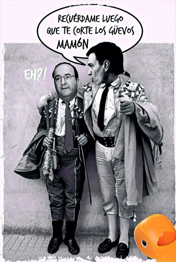 Ahora España, eslogan electoral del PSOE. Se coge antes a un rojo que a un cojo. Por Linda Galmor