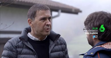 Arnaldo Otegi conversa con Jordi Évole en 'Salvados'