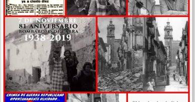 De Memoria histórica: 81 años del bombardeo de Cabra