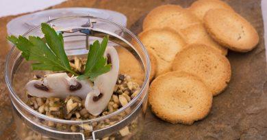 El tartar de champiñones que a todos gusta. Fotografía de Rodolfo Arévalo