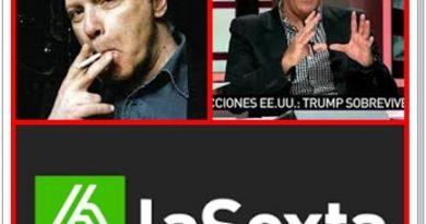 Javier Marías descubre el lenguaje no verbal impuesto por José Miguel Contreras en La Sexta. Por Rafael Gómez de Marcos