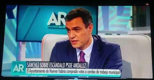 Pedro Sánchez: Les puedo garantizar que el PSOE es un partido con firmes principios democráticos.