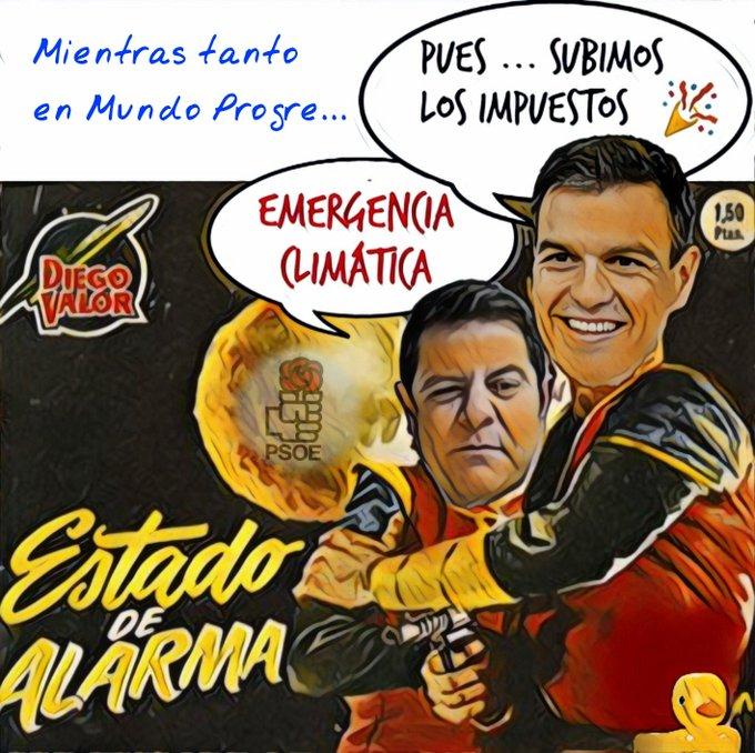 Mientras tanto en el mundo progre... dice don Narciso que con él España avanza. Por Linda Galmor