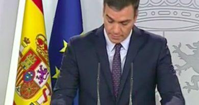 Sánchez dice hoy que nadie está por encima de la ley.