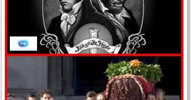TVE como Dr Jekyll y Mr Hyde.