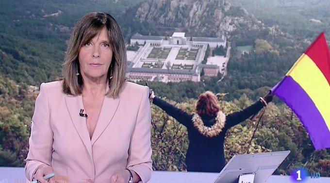 Día 24 de Octubre, Jueves de Profanación y la tricolor hasta en la sopa que reparte en el telediario sectario TVE