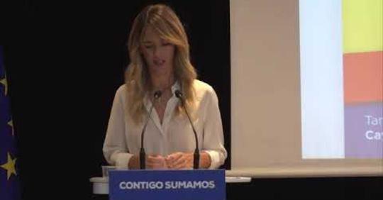 Cayetana Álvarez de Toledo pide perdón en nombre del Partido Popular