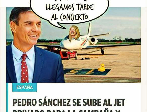 El PedroSOE ee Ahora España a Ahora YOOO. Por Linda Galmor