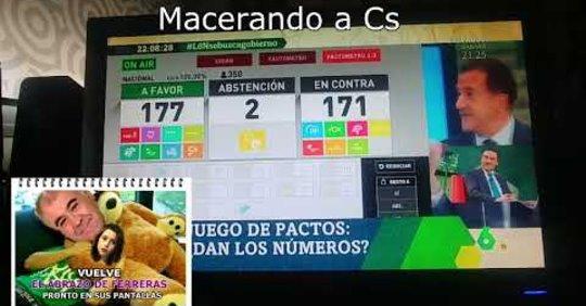 Ferreras, Contreras y Cia siguen macerando a Ciudadanos