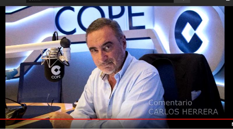 Homenaje en imágenes al comentario de Carlos Herrera.