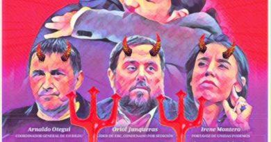 Infierno comunista en España de la mano del hedonista Sánchez. Lo que sea mientras YOOO en Palacio. Por Linda Galmor