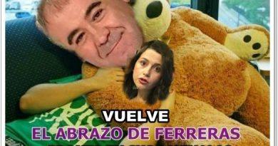 Vuelve el abrazo de Ferreras en modo osito de peluche con tres pares de calzoncillos. Por Rafael Gómez de Marcos