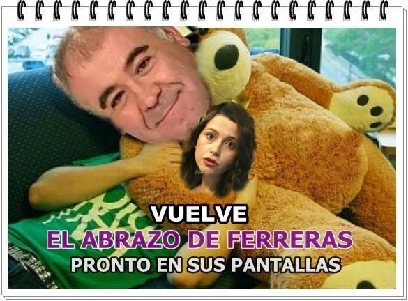 Vuelve el abrazo de Ferreras