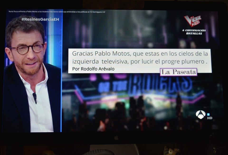 Dice Nuria Roca que el artículo que escribí, acerca de Pablo Moto y Abascal, tiene un título de dudosa calidad literaria