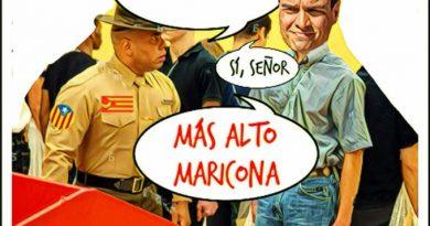 IMAGEN EN EXCLUSIVA: ERC domando al estado español. Por Linda Galmor
