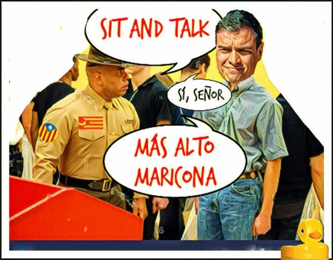 ERC domando al estado español. Por Linda Galmor
