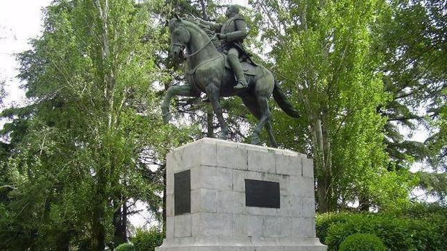 Estatua de Simón Bolívar en Madrid