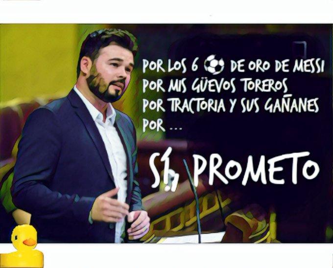 Se repite el circo del Juro y Prometo para acatar y defender la Constitución española. Por Linda Galmor