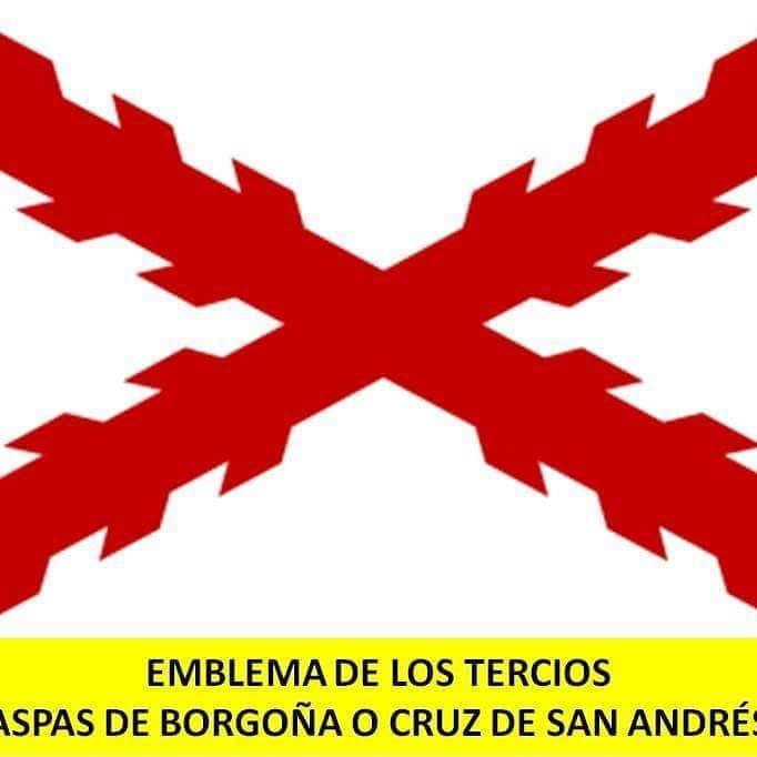 Aspas de Borgoña o Cruz de San Andrés