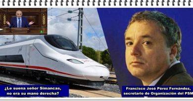 El Gobierno de Pedro Sánchez ha recolocado en la empresa pública Renfe a un antiguo dirigente socialista condenado