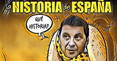 Es lo que hay con la historia de España a partir de ahora. Por Linda Galmor