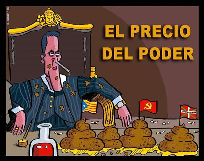Españoles, ya quedan solo tres días para que se acabe la gozadera. Ilustración de Santi Orue