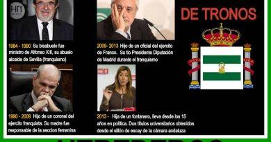 Los herederos del juego de tronos socialista y andaluz