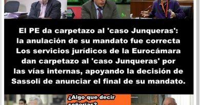 Los servicios jurídicos de la Eurocámara dan carpetazo al caso Junqueras