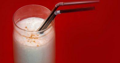 Receta super rápida de leche merengada. Por Diana Cabrera