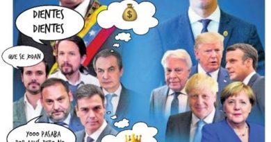 En portada: la izquierda de Estepaíss queda retratada con el trato que dan a las narcodictaduras. Por Linda Galmor