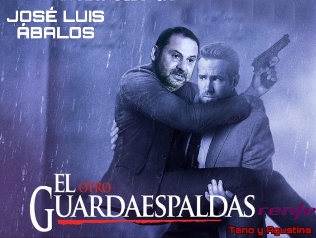 Al señor Ábalos le crecen los enanos con el enchufe de su guardaespaldas. Iljustración de Tano y Agustina