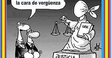 La Justicia antes se vendaba los ojos...