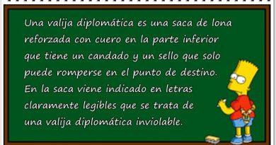 Apuntes sobre la valija diplomática para los franquiciados de Ferreras
