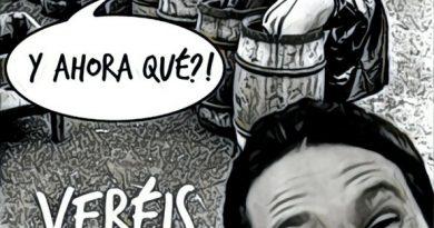 El Pavo Iglesias les enseña a jugar al Teto en la confraternización de Quintos de Mora. Por Linda Galmor