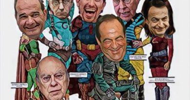 Los más ricos de Estepaíss son los que realkizan las políticas de izquierda o el asalto a mano armada al más débil. Ilustración de Linda Galmor