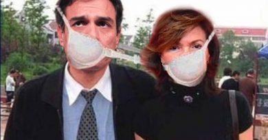 Que viene el Coronavirus, la pandemia final. Ilustración de Tano
