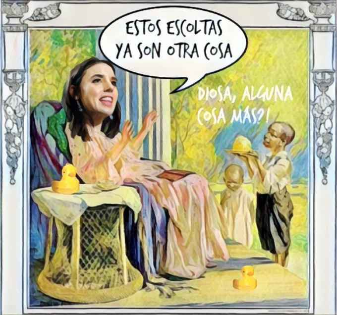 las niñas tuteladas de la Comunidad Balear agradecerán a Ireno su mando en el Ministerio de Igualdad. Por Linda Galmor