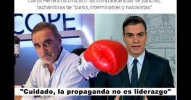 Aló presidente Sánchez. Cuidado, la propaganda no es liderazgo.