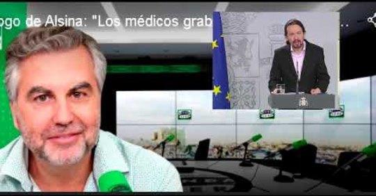 Carlos Alsina y Carlos Herrera un periodismo decente, denunciando la impostura del gobierno y de su vicepresidente