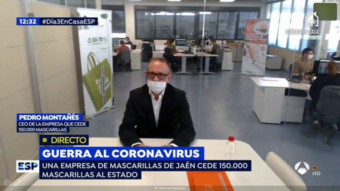 Pedro Montañés, el fabricante de mascarillas atacado de manera injusta: Incautación, linchamiento mediático y mentiras gubernamentales