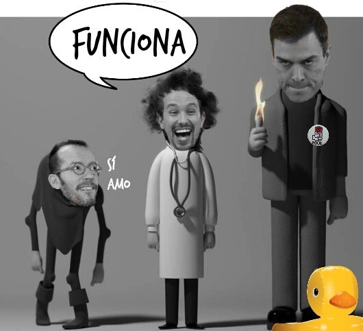 Pedro, Pablo y el gobierno de la farsa y la psicopatía. Por Linda Galmor
