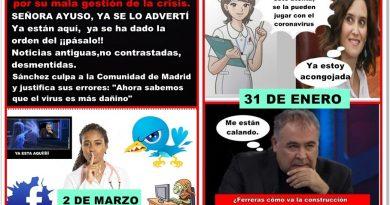 Sánchez culpa a la Comunidad de Madrid y justifica sus errores